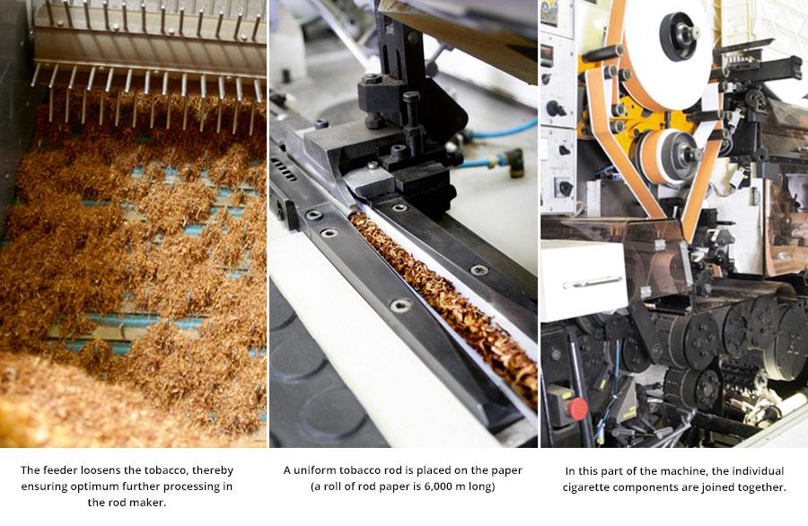 Cigarettes production