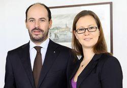 Geschäftsführer Dipl.-Kfm. Patrick Engels und Dipl.-Wirtsch.-Ing. (FH) Katharina Pöschl