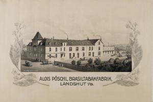 Alois Pöschl - Fabrik 1912